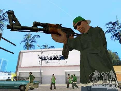 AKC - 47 HD para GTA San Andreas terceira tela