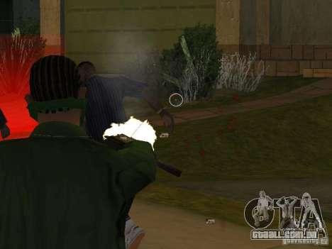 CLEO armas para GTA San Andreas por diante tela