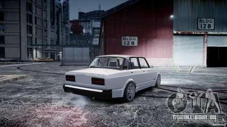 ВАЗ 2107 Drift para GTA 4 esquerda vista