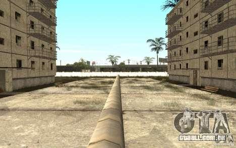 Uma pequena cidade russa na Grove Street para GTA San Andreas sexta tela
