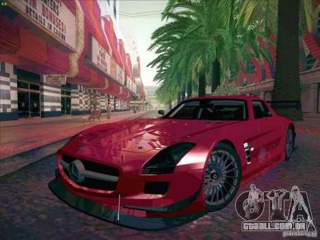 Mercedes-Benz SLS AMG GT-R para GTA San Andreas vista traseira