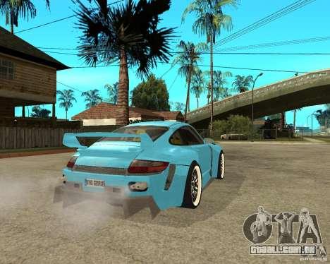 Porsche 911 Turbo Grip Tuning para GTA San Andreas traseira esquerda vista