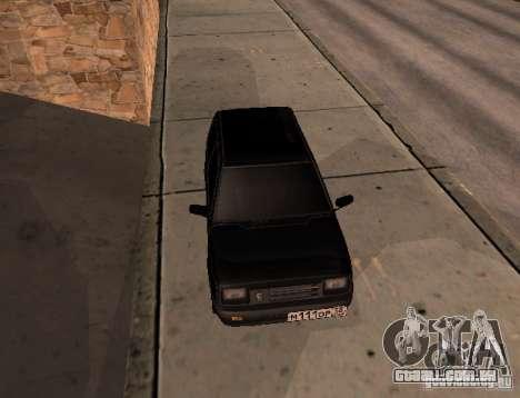 Oka para GTA San Andreas traseira esquerda vista