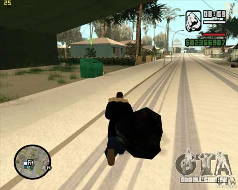 Faz um lixo para GTA San Andreas quinto tela