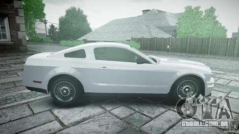 Ford Shelby GT500 para GTA 4 esquerda vista
