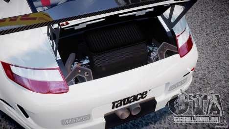 Porsche GT3 RSR 2008 SpeedHunters para GTA 4 vista de volta