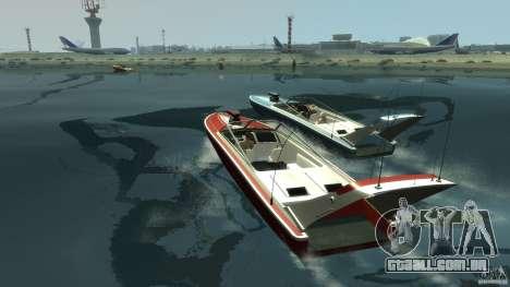 Tuned Jetmax para GTA 4 traseira esquerda vista