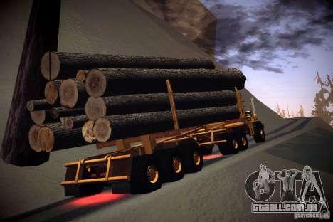 Trailer de Hayes EQ 142 para GTA San Andreas
