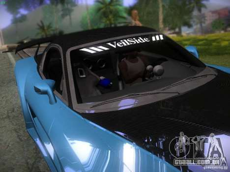 Mazda RX 7 Veil Side para GTA San Andreas interior