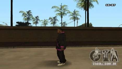 Skin Pack Ballas para GTA San Andreas sétima tela