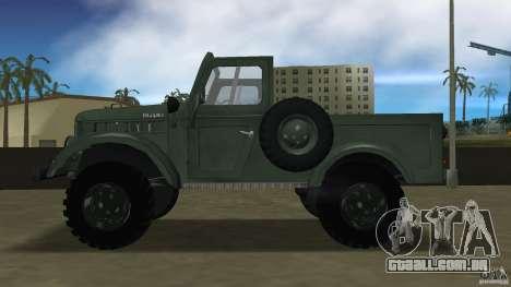 Aro M461 para GTA Vice City deixou vista