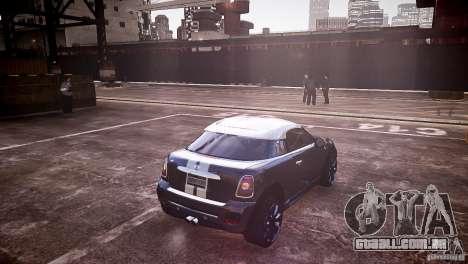 Mini Coupe Concept v0.5 para GTA 4 traseira esquerda vista