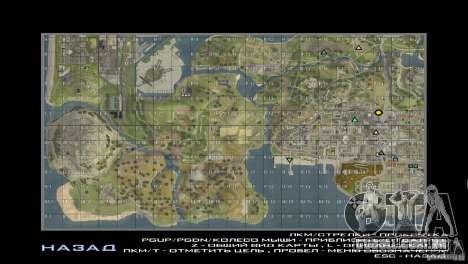 Map Mod v1.2 para GTA San Andreas