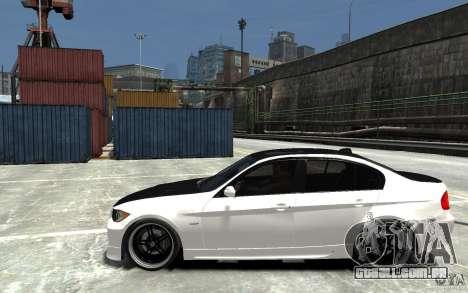 BMW 330i E60 Tuned 2 para GTA 4 esquerda vista