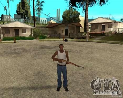 Armas da chamada do dever para GTA San Andreas