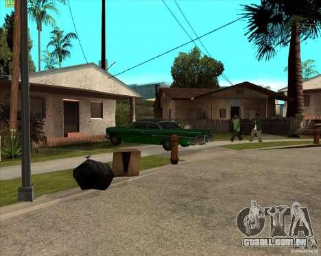 Car in Grove Street para GTA San Andreas segunda tela
