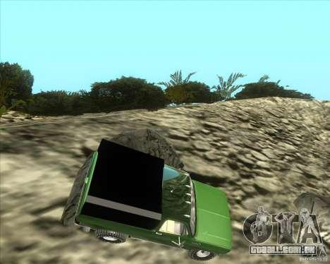 Chevrolet K5 Ute Rock Crawler para GTA San Andreas esquerda vista