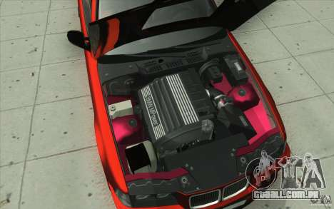 BMW Fan Drift Bolidas para GTA San Andreas vista inferior