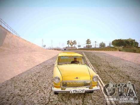 Van de gás 22B para GTA San Andreas vista traseira