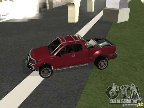 Ford F-150 para GTA San Andreas esquerda vista