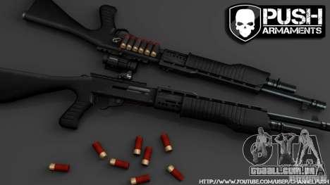 SPAS-12 Tactical para GTA 4