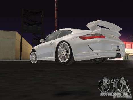 Porsche 911 GT3 para GTA San Andreas vista traseira