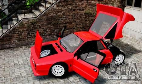 Lancia 037 Stradale para GTA 4 vista interior