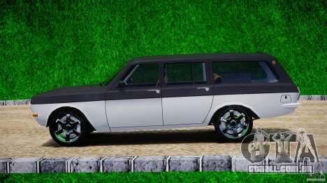 GAZ 24-12-1986-1994 Tuning para GTA 4 esquerda vista