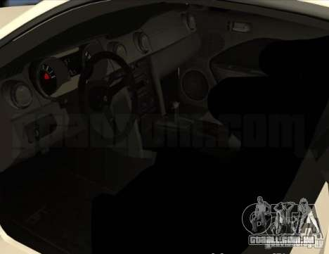 Ford Mustang GT Lowlife para GTA 4 vista de volta