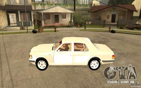 Bentley Turbo RT para GTA San Andreas esquerda vista