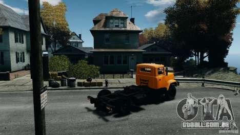 KrAZ-5133 para GTA 4 esquerda vista