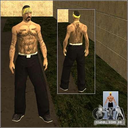 Pele Pack Getto para GTA San Andreas décimo tela