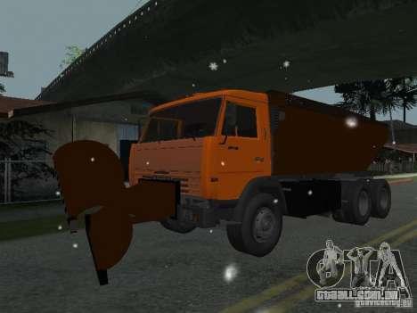 KAMAZ 53215 para GTA San Andreas traseira esquerda vista