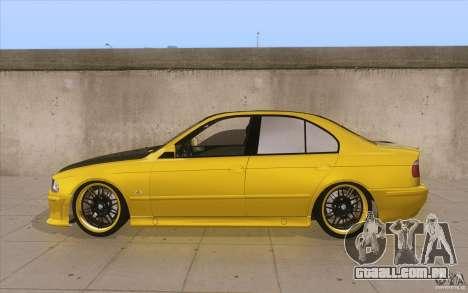BMW M5 E39 - FnF4 para GTA San Andreas esquerda vista