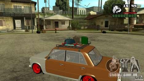 Lada 2101 OnlyDropped para GTA San Andreas esquerda vista