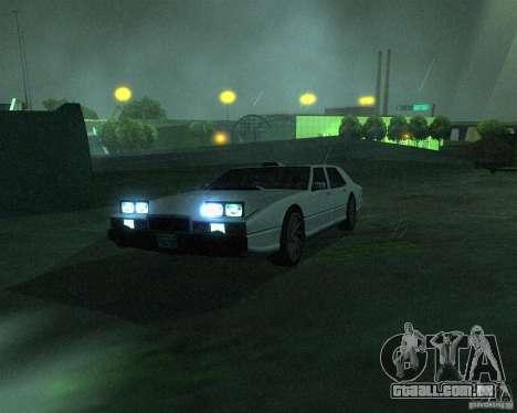 Aston Martin Lagonda para GTA San Andreas esquerda vista