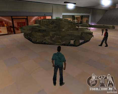 Tanque de Camo para GTA Vice City terceira tela