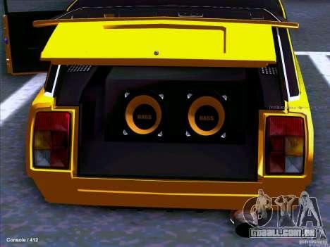 VAZ 2104 para GTA San Andreas traseira esquerda vista