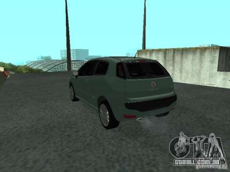 Fiat Punto EVO SPORT 2010 para GTA San Andreas esquerda vista