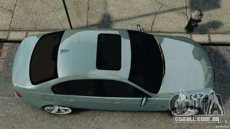 BMW 330i E92 para GTA 4 vista direita