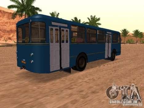 LIAZ 677 para as rodas de GTA San Andreas