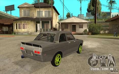 Datsun 510 Drift para GTA San Andreas vista direita