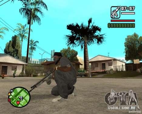 Aplicações de arco para GTA San Andreas terceira tela
