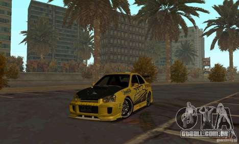 NFS Most Wanted - Paradise para GTA San Andreas quinto tela