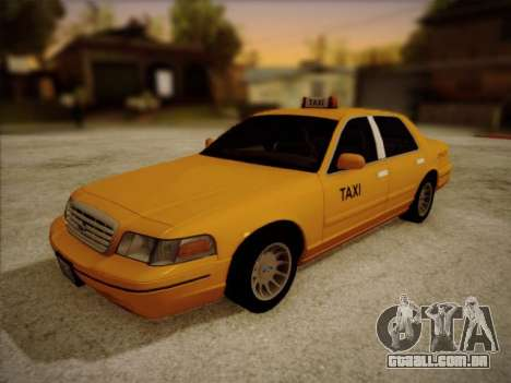 Ford Crown Victoria Taxi 2003 para GTA San Andreas