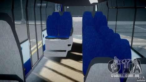 DAF Berkhof City Bus Amsterdam para GTA 4 vista direita