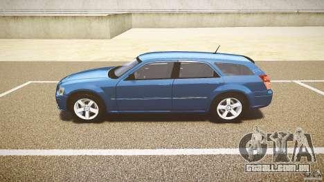 Dodge Magnum RT 2008 para GTA 4 vista interior