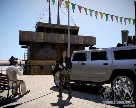 CoD Black Ops Hudson para GTA 4 por diante tela