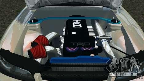 Nissan Silvia S15 Drift para GTA 4 vista lateral