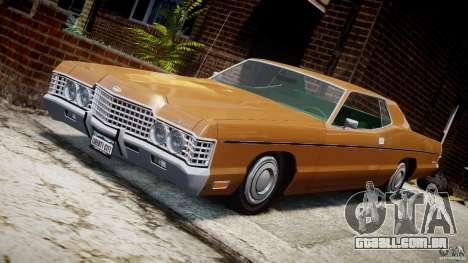Mercury Monterey 2DR 1972 para GTA 4 vista inferior